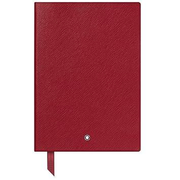 Montblanc 116521 - Cuaderno #146 Fine Stationery – Diario de piel con páginas de líneas – Bloc para apuntes A5 – 150 x 210 mm, 192 páginas, tapa color ...