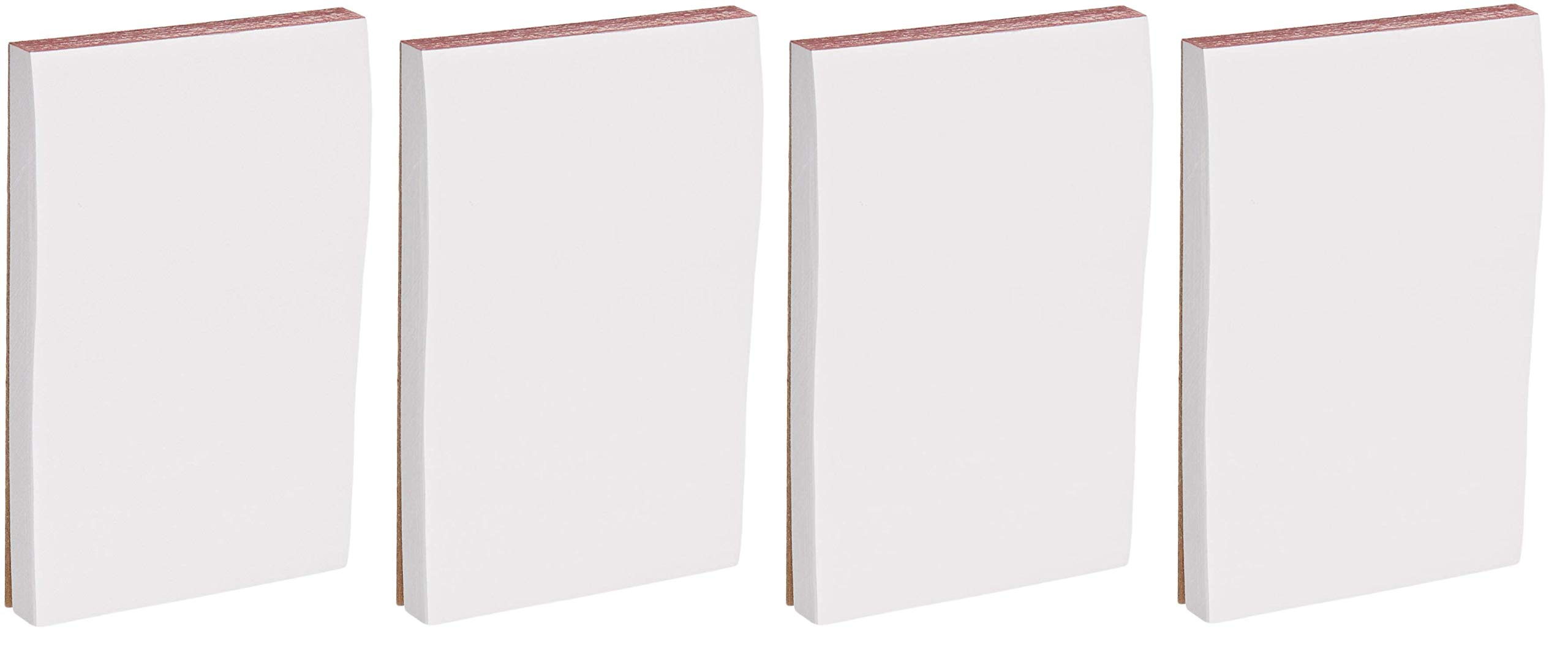 School Smart Scratch Pad, 3 x 5 Inches, 100 Sheets, White, Pack of 12 (Fоur Paсk, White)
