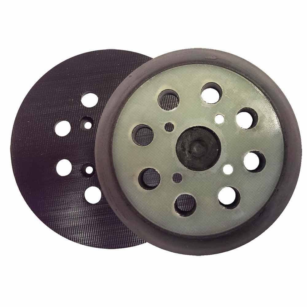 Superior Pads and Abrasives RSP28 5'' Dia 8 Hole Hook & Loop Sander Pad Replaces Milwaukee OE # 51-36-7090, Ryobi OE # 300527002, 975241002, 974484001, Ridgid OE # 300527002