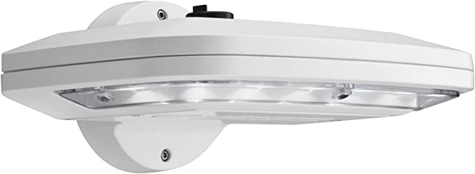 Lithonia Lighting OLW 23 M2 Dark BZ LED Outdoor Wall Pack/Area Light Interior Negro iluminación de pared: Amazon.es: Iluminación