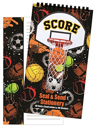 iscream 'Got Net' Seal and Send 40 Sheet Stationery Pad with Sticker Seals -