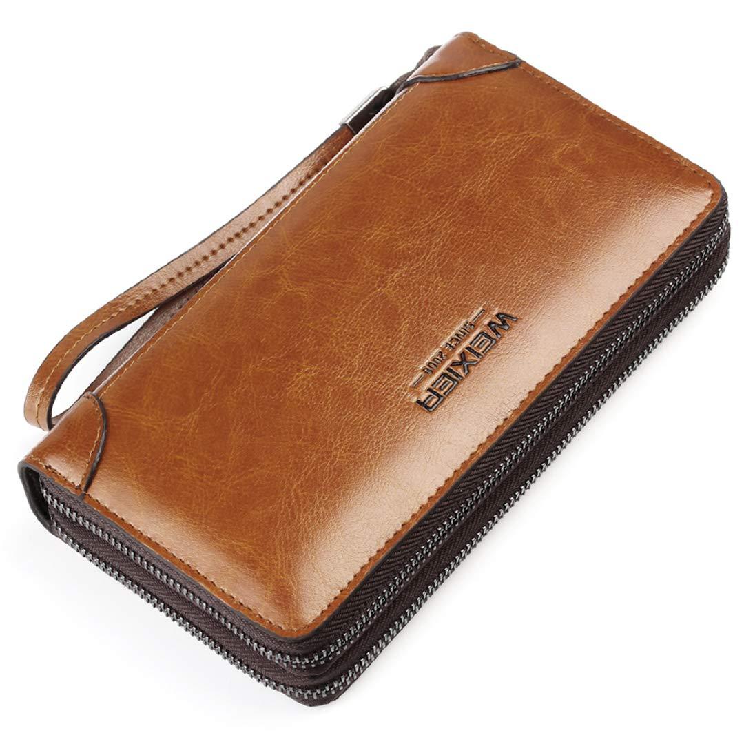 9c2bfa3277b0 Amazon.com: SaoLangtame Men Business Wallet Leather Long Clutch H y ...