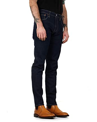 68f5b32e272 Levi's Men's 512 Slim Taper Fit Jeans, Blue: Amazon.co.uk: Clothing