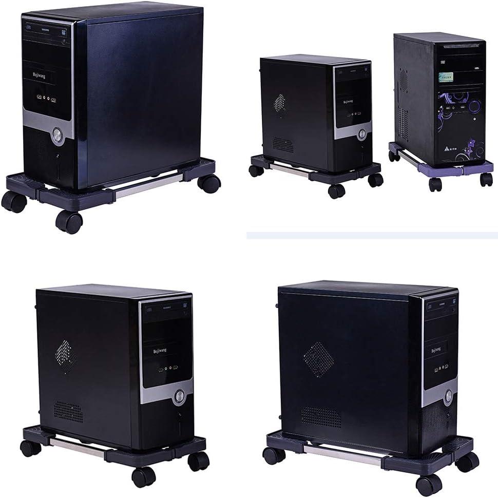 DDSGG CPU St/änder F/ür PC Computer Geh/äusehalter Halterung Desktop Hauptrahmen Lagerregal Ausziehbar Universal Computerst/änder
