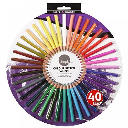 Simply Colour Pencil Wheel by Daler Rowney