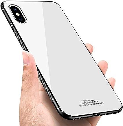 XINYIYI Custodia per iPhone X/iPhone XS, 3D Crystal Clear Custodia ...