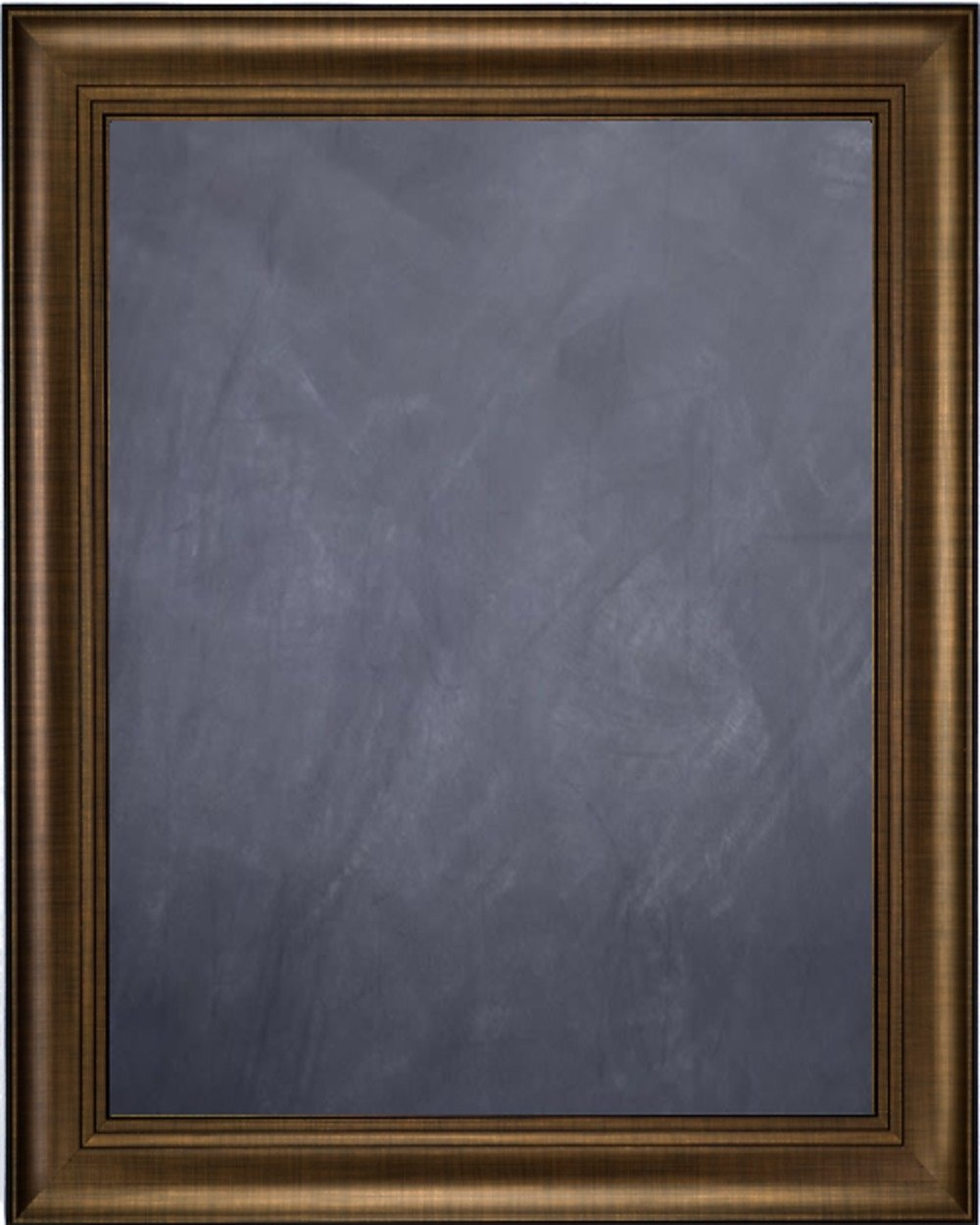 Framed Chalkboard 20'' x 24'' - with Bronze Finish Frame with Triple Step Lip by Art Oyster