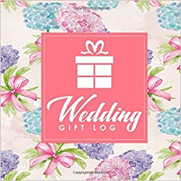 wedding gift log wedding gift journal gift log book wedding gift