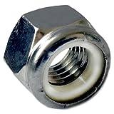 Superior Grade/Type 316 Stainless Steel Nylon Insert Lock Nuts - Marine Bolt Supply (3/8-16 (pack of 25pcs))