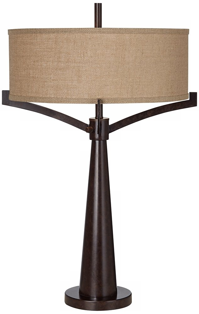 Tremont bronze iron table lamp set of 2 amazon mozeypictures Choice Image