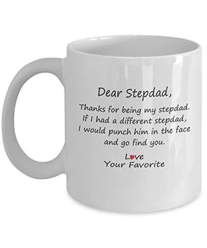 Amazoncom Funny Step Dad Gifts Id Punch Another Bonus