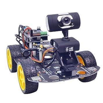 XiaoR Geek DS WiFi Smart Robot Car Kit for Arduino UNO R3