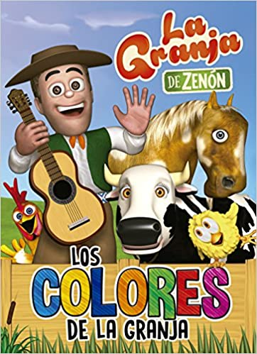 Los colores de la granja La granja de Zenón Reino Infantil. Actividades El reino infantil: Amazon.es: Varios autores, Adosaguas Sayalero SLU;: Libros