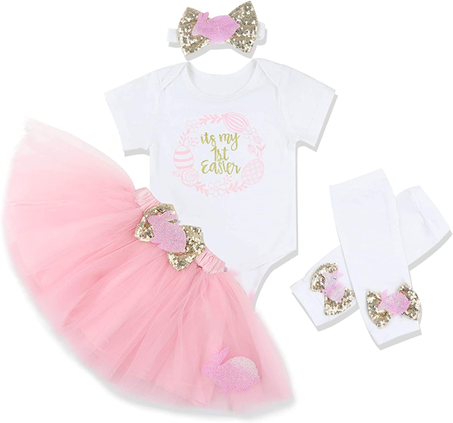 infant Easter outfit Newborn Easter outfit spring leg warmers baby headband INFANT Baby Girl Easter Outfit Spring time outfit