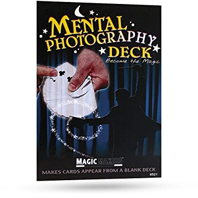 Magic Makers Pro Brand Mental Photography Deck - Instructional Magic Training Included: Toys & Games