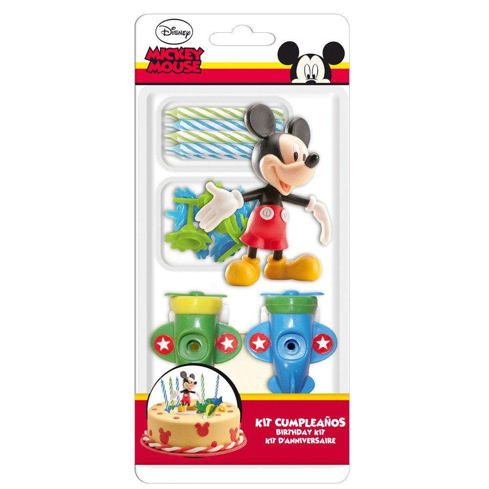 MICKEY 303000/Kit Decoration Kuchen Figur Mehrfarbig Kunststoff 11/x 5/x 23/cm