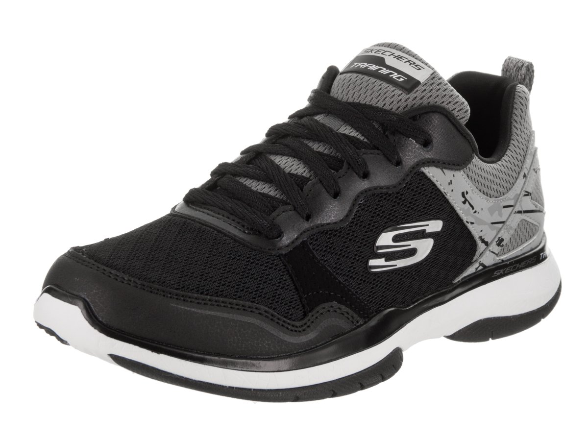 Skechers Burst TR Women's Sneakers B01JKEWT1E 8 B(M) US Black