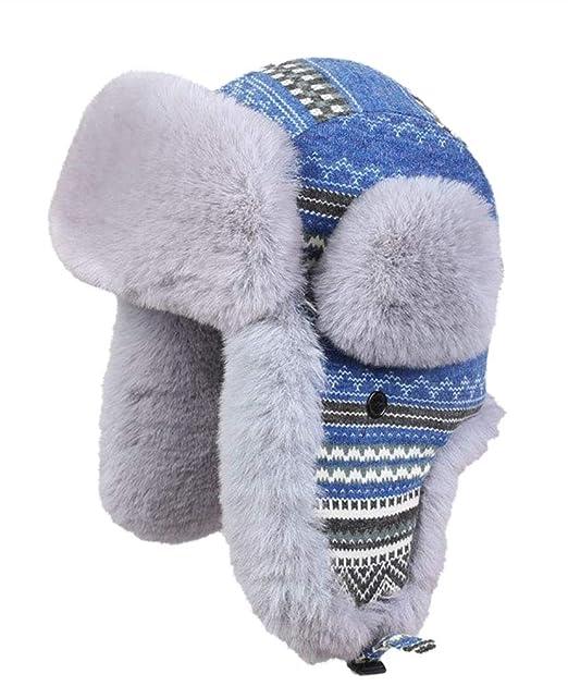 Insun Unisex Cappello da Aviatore Berretto Antivento Invernale Cappelli  Russo  Amazon.it  Abbigliamento c3226a075f58