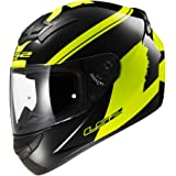 LS2 FF352-L Rookie Bulky Helmet,( Matt Black Yellow,L)