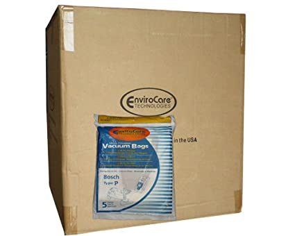 Amazon.com - 250 (Full Case) Bosch Allergy TYPE P Bags ...
