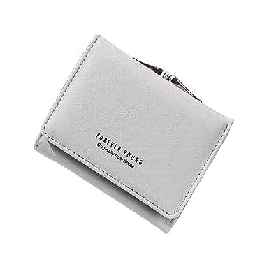 5ec8287e5228 ENMNM 財布 レディース 三つ折り ミニ財布 がま口 小銭入れ ウォレット 人気 かわいい おしゃれ ギフト (