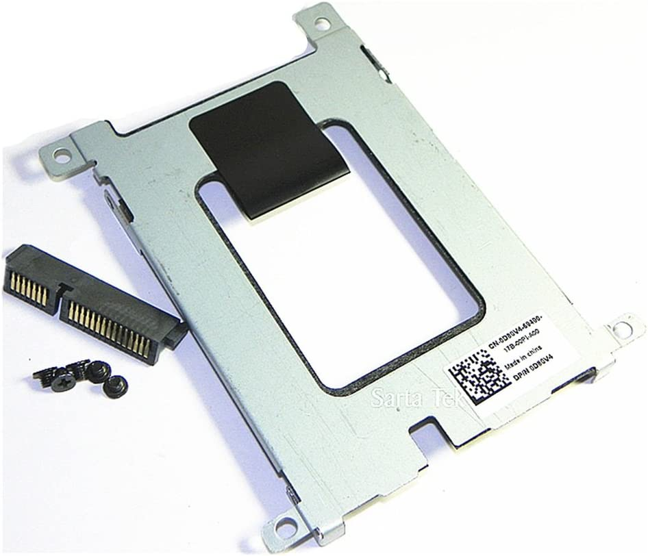 HDD SSD SATA Hard Drive Caddy + Connector For Dell Latitude E5420 E5520 E5220 Compatible D80V4