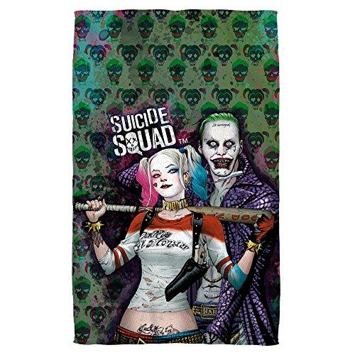 SUICIDE SQUAD Harley Quinn Joker 36 X 58 Beach (Harley Quinn Squad)
