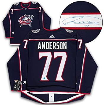 quality design e144c bba88 Josh Anderson Signed Jersey - Adidas - Autographed NHL ...