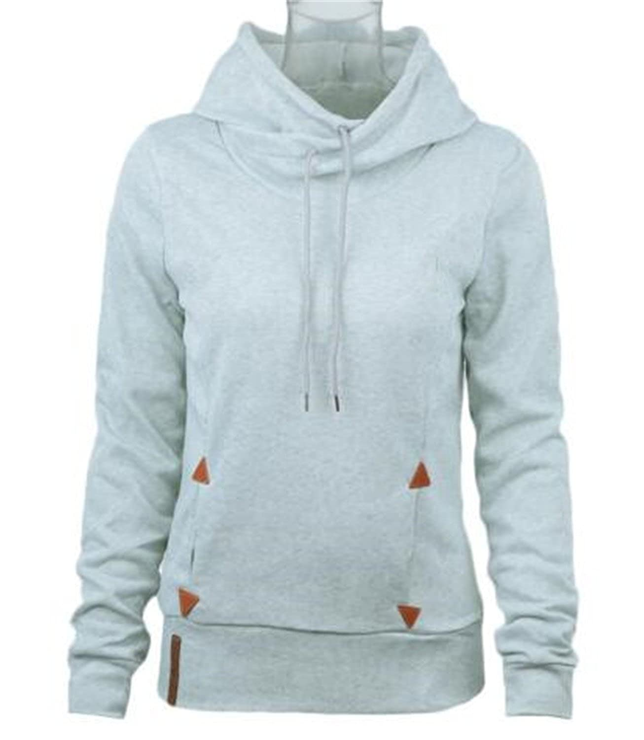 Henraly Women Hoodies Self-tie Pockets Pullover Hooded Loose Tops Hoodie For Women Sudaderas Mujer at Amazon Womens Clothing store: