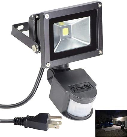 Nuevo Sensor de movimiento PIR Seguridad Estándar de LED Foco 20W//30W//50W luz de inundación