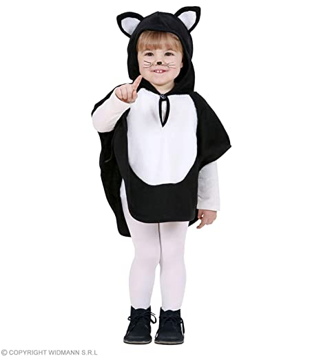 Amazon Com Children S Plush Cat Costume Infant 3 4 Yrs 110cm For
