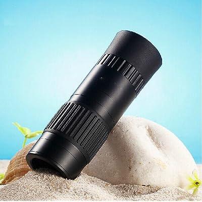 10-100X21 Mini Télescope Optique Natif Or / Noir Télescope
