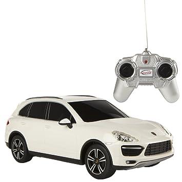 RASTAR -Porsche Cayenne Turbo, Coche teledirigido, Escala 1:24, Color Blanco (ColorBaby 85041): Amazon.es: Juguetes y juegos