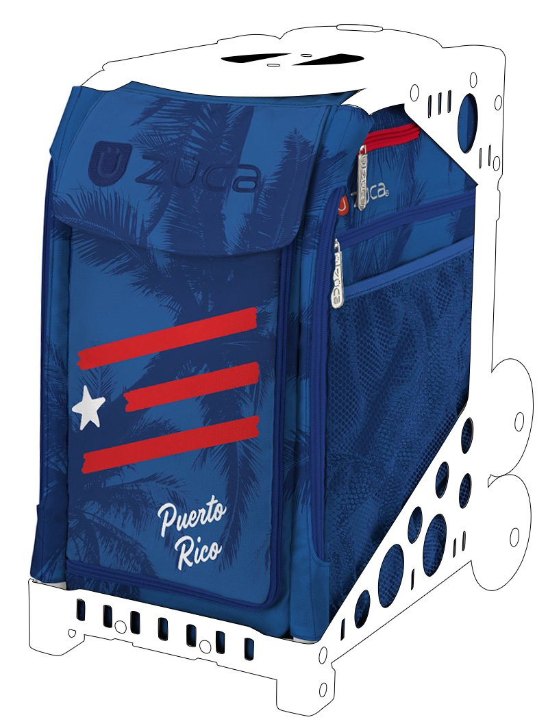 32f791dfdd Amazon.com   ZUCA Sport Bag - Puerto Rico with Gift Stuff Sack and Seat  Cover (Blue Frame)   Sports   Outdoors