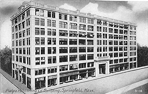 Phelps Publishing Co Building Springfield Massachusetts Postcard ()