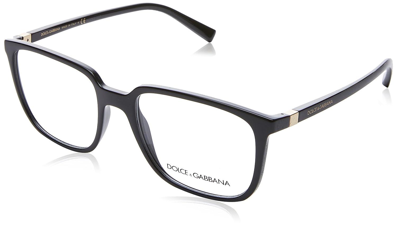 947aaacbc44 Amazon.com  Dolce   Gabbana frame (DG-5029 501) Acetate Shiny Black - Gold   Clothing
