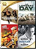 Butch Cassidy and the Sundance Kid / The Longest Day / The Sand Pebbles / The Hustler Quad Feature