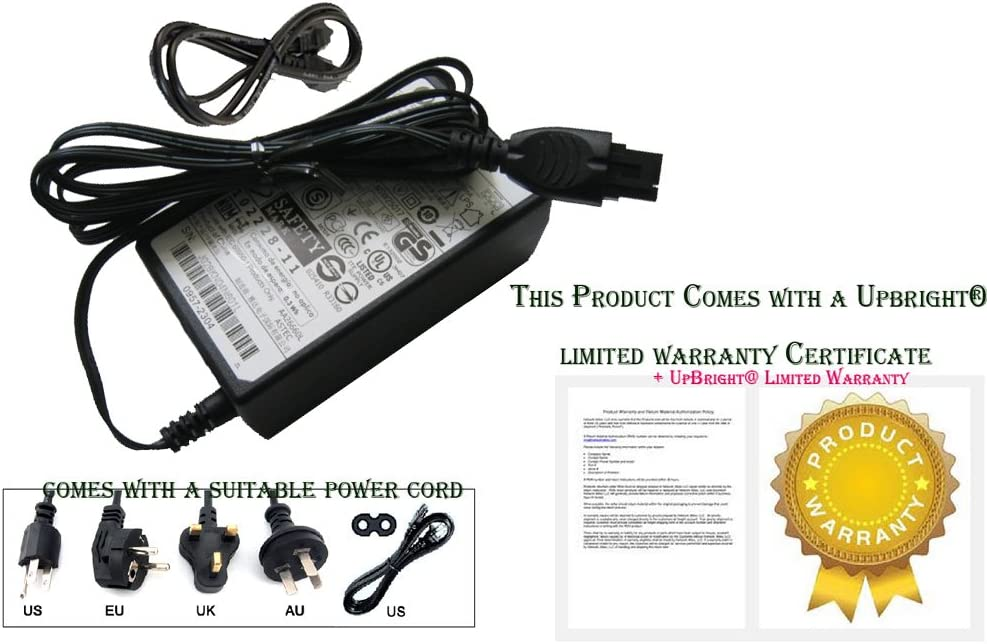 HP PHOTOSMART 7525 AIO Printer Power Adapter Cord Charger (2304)