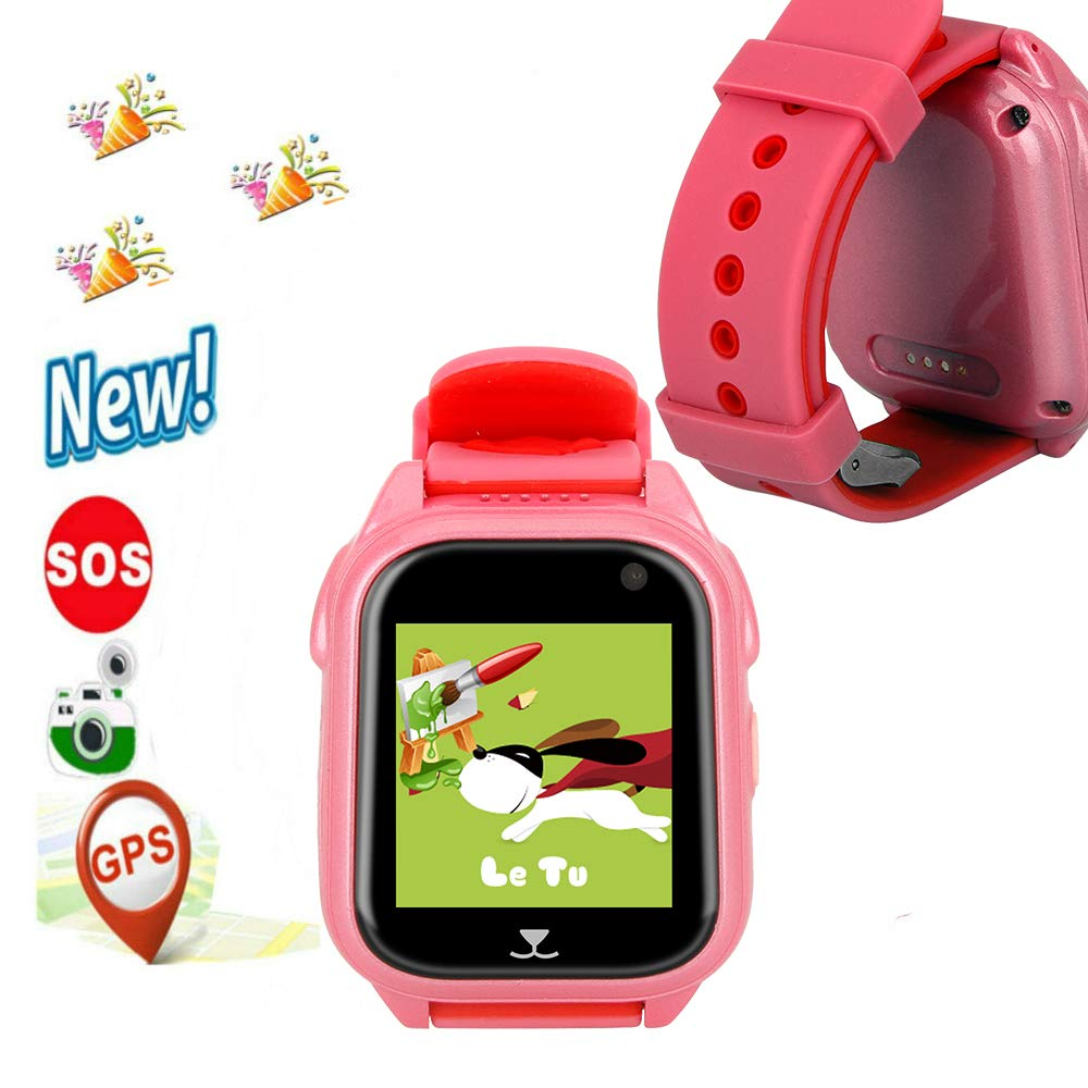 Amazon.com: GPS Watch,Hangang IP67 Waterproof Kid Smartwatch ...