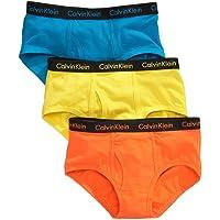 Calvin Klein Boys' Assorted Briefs (Pack of 3)
