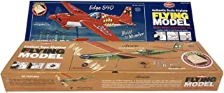 product image for Two Easy to Build Guillow's Balsa Wood Model Airplane Kits