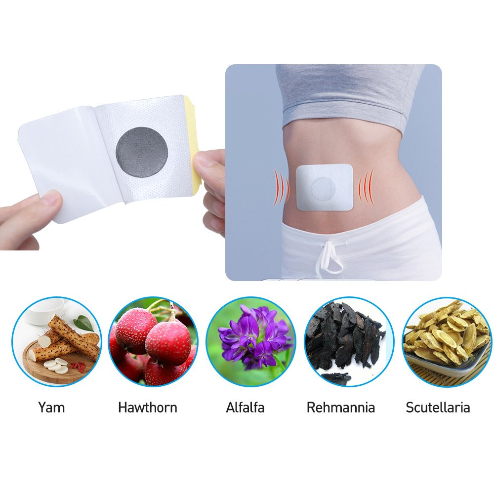24pcs=4Bags Diabetes Patch Stabilizes Blood Sugar Level Balance Blood Glucose Patch Natural Herbs Diabetes Plaster by Sumifun (Image #8)