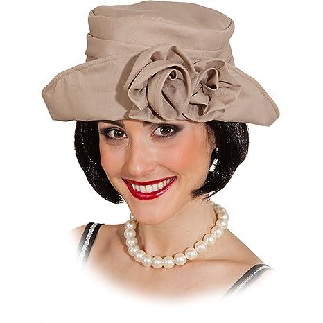 48de41776bb43 Charleston sombrero 20er años mujeres sombrero elegante trampa Girl gorro  30er gorro para mujer flores y