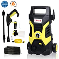 Pressure Washer,1500W,105 Bar Patio Cleaner Portable High Pressure Power Washer
