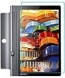 Millko Lenovo YOGA Tab 3 10 強化ガラスフィルム 専用 気泡ゼロ 飛散防止 10.1インチ レノボ ヨガ タブ3 10 液晶保護フィルム 国産ガラス素材 (クリア)