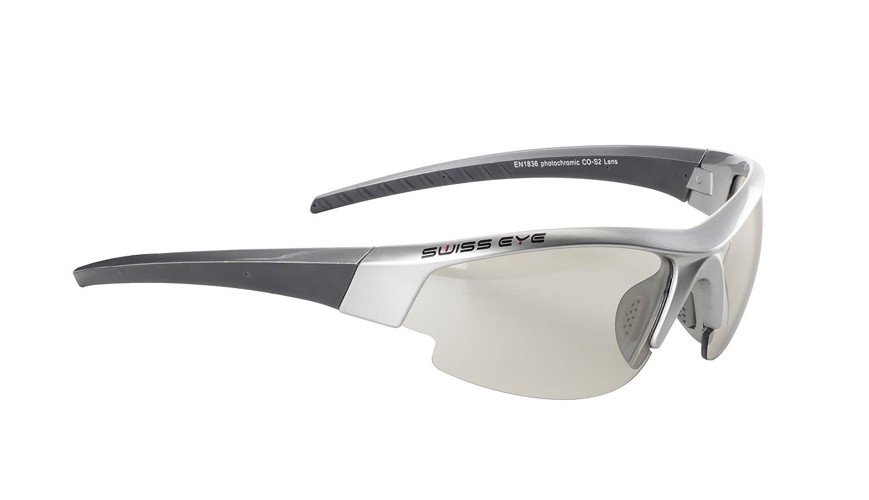 MultiCouleure - gris métallisé gris foncé Taille unique Swiss Eye Cobra Gardosa Evolution Lunettes de soleil de sport