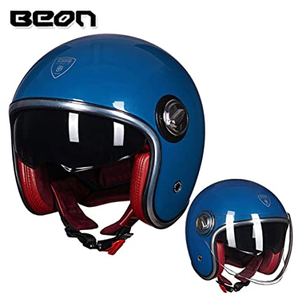 Amazon.com : Loyasun Motorbike Helmet Casco Motorcycle Vintage Moto ...