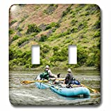 3dRose lsp_230746_2 USA, Idaho, Columbia Basin, Snake River, Rafting Toggle Switch, Multicolor