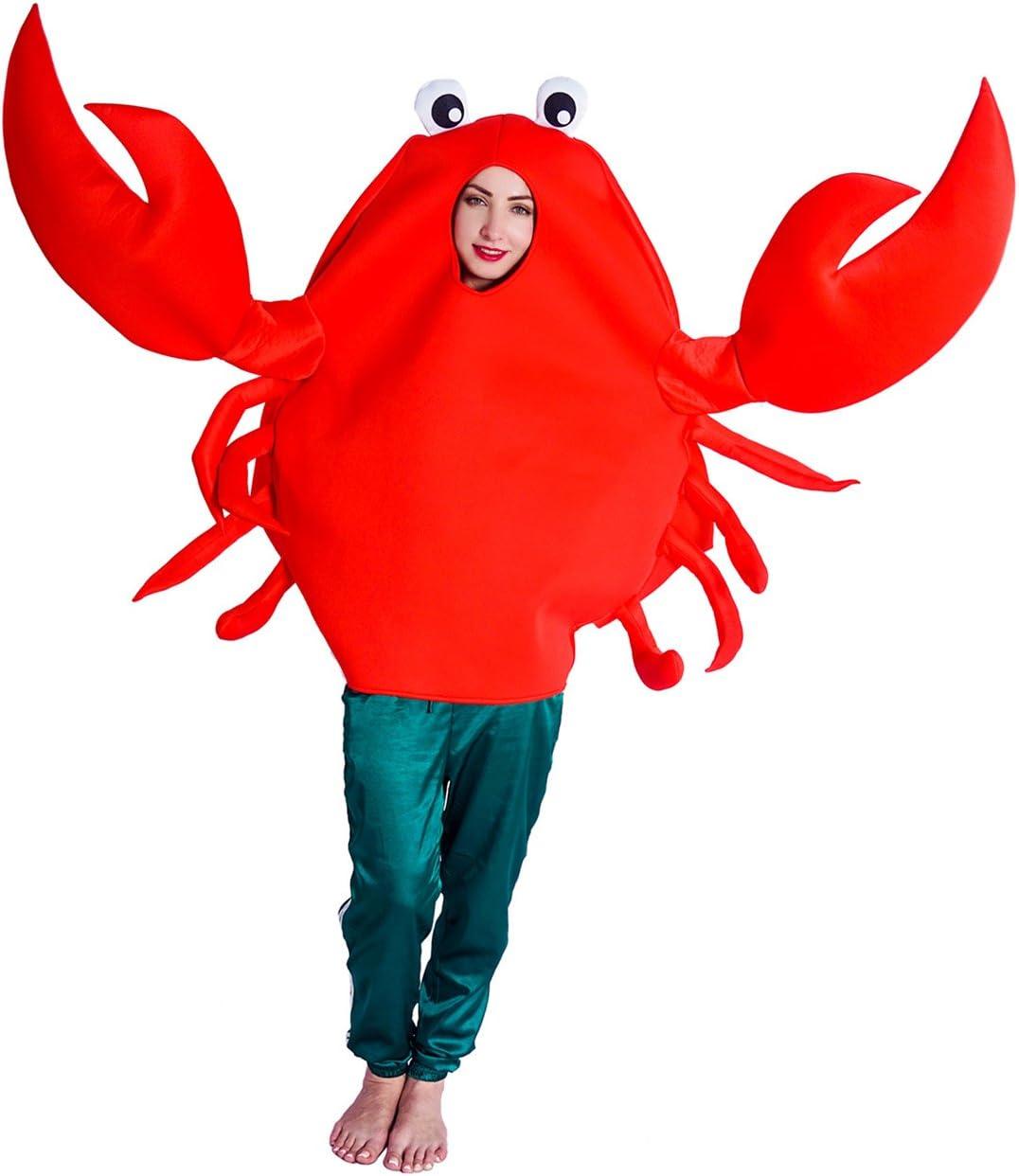 SEA HARE Traje de Disfraz de Animal Doméstico de Cangrejo Rojo ...