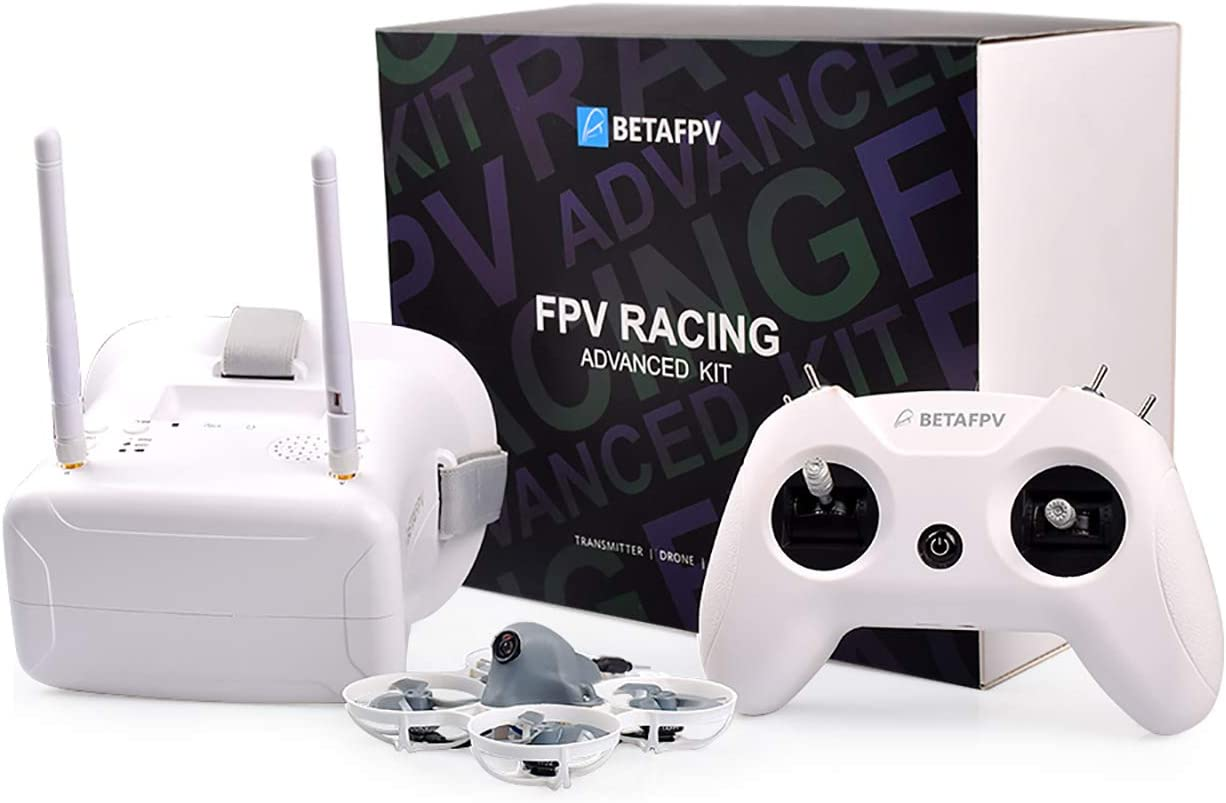 BETAFPV FPV Whoop Racing Drone Advanced Kit with liteRadio 2 SE TX VR01 Goggles Meteor75 Lite for RTF FPV Tiny Whoop 1S Brushless Drone
